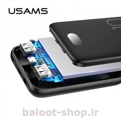 پاور بانک یوسمز مدل PB9 دارای مدارهای حفاظتی برای جلوگیری از صدمه به گوشی و باتری