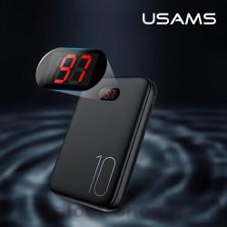 پاور بانک یوسمز مدل PB9 دارای نشانگر LED برای نشان دادن میزان شارژ داخلی پاوربانک