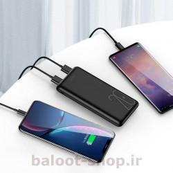 پاور بانک یوسمز مدل PB19 مناسب شارژ انواع گوشی به صورت سریع با جریان خروجی 2.1 آمپر