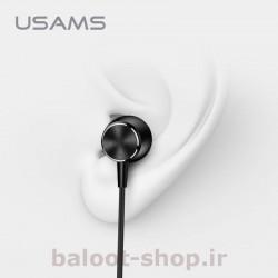 هندزفری سیم دار یوسمز مدل EP-31 با قابلیت قرار گرفتن راحت در گوش