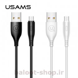 کابل شارژ و داده یوسمز مدل U18 نوع Micro دارای قابلیت فست شارژ با جریان عبوری 2 آمپر