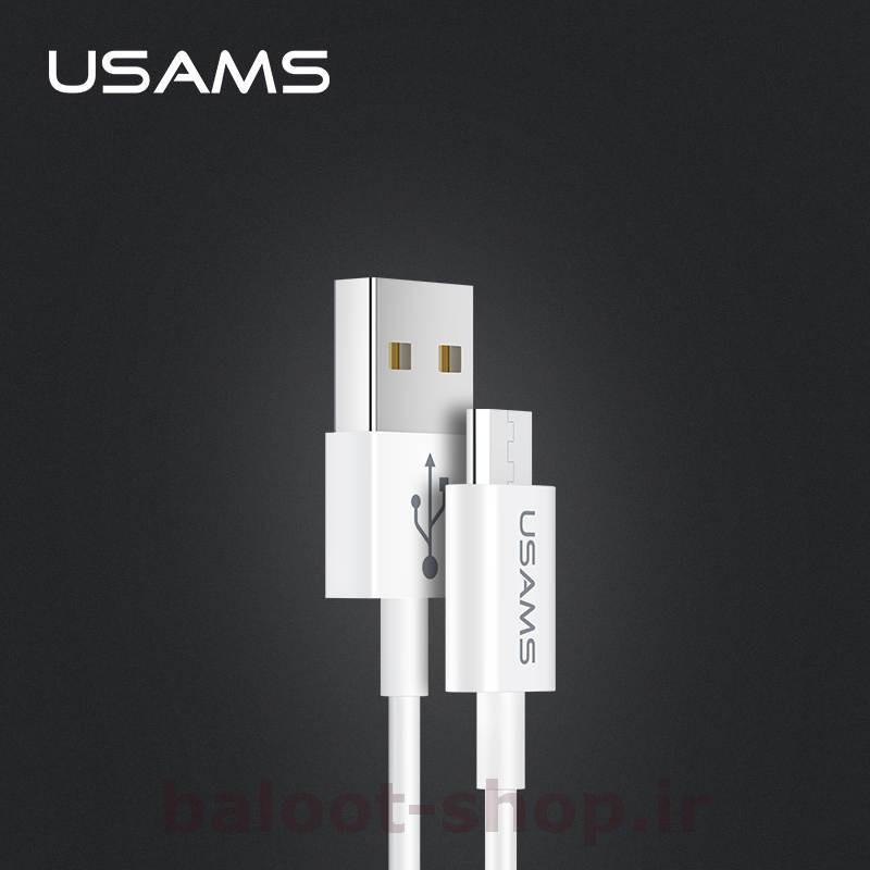 کابل شارژ و داده یوسمز مدل U23 نوع Micro با قابلیت فست شارژ با جریان عبوری 2 آمپر