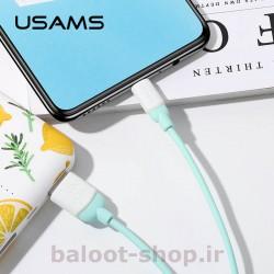 کابل شارژ و داده یوسمز مدل US-SJ247 نوع Micro قابل استفاده با انواع دستگاهها و گوشیهای دارای سوکت شارژ میکرو