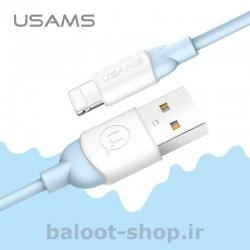 کابل شارژ و داده یوسمز مدل US-SJ245 نوع Lightning مقاوم و با طول عمر بالا