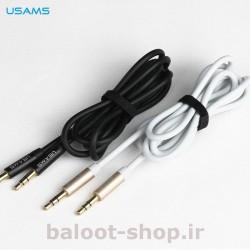 کابل صدای AUX یوسمز مدل YP-01 با کیفیت عالی مناسب پخش فایلهای صوتی موجود در گوشی از دستگاههای صوتی خانگی و پخش خودرو