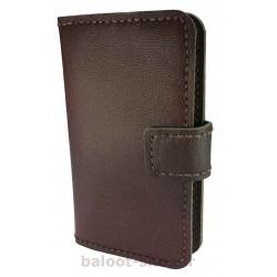 کیف و محافظ گوشی تهیه شده از بهترین چرمهای طبیعی بزی و گاوی و دوخته شده به صورت دست دوز مناسب انواع گوشی