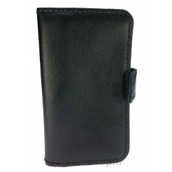 کیف و محافظ انواع گوشی موبایل تهیه شده از چرم طبیعی و دست دوز با کیفیت عالی مناسب انواع گوشی و به رنگ مشکی